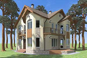Проекты ж/б домов (несъемная опалубка)