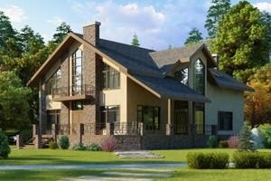 Проекты домов 300-500 м2