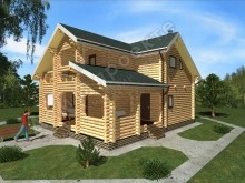 Проект бани ПБ-012