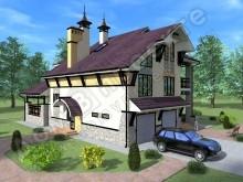 Проект дома ПД-015