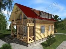 Проект дома ПД-021