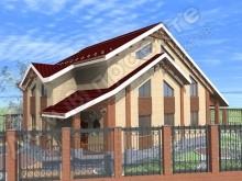 Проект дома ПД-034