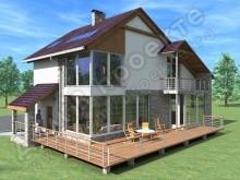 Проект дома ПД-035